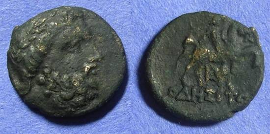 Ancient Coins - Odessos Thrace - AE21  Circa 200BC