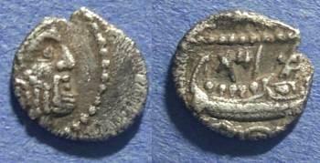 Ancient Coins - Phoenicia, Arados 380-350 BC, Obol