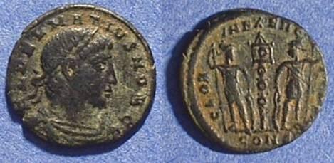 Ancient Coins - Delmatius - Caesar 335-7 AE 3/4