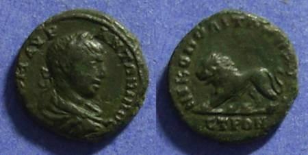 Ancient Coins - Nikopolis, Moesia Inferior AE16 Elagabalus 218-222