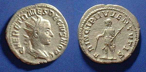 Ancient Coins - Herennius Etruscus (Son and Caesar of Decius) 250-251 AD
