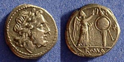 Ancient Coins - Republic Victoriatus - Circa 200 BC