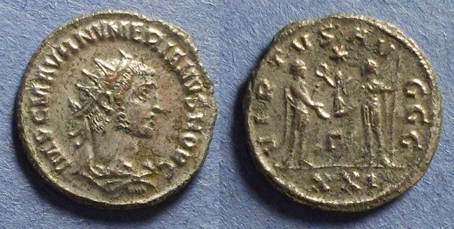 Ancient Coins - Roman Empire, Numerian (as Caesar) 282-3, Antoninianus