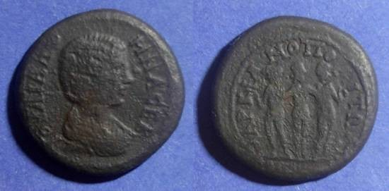 Ancient Coins - Marcianopolis, Julia Domna 193-217 AD, AE24