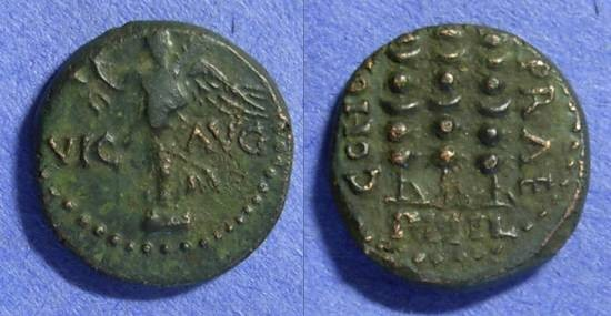 Ancient Coins - Philippi Macedonia – 1st Century AD – AE18