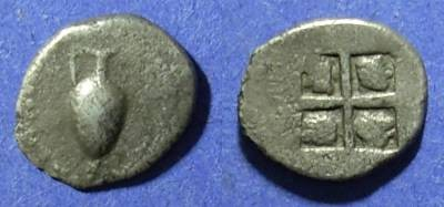 Ancient Coins - Macedonia, Terone Circa 450 BC, 1/12 Stater