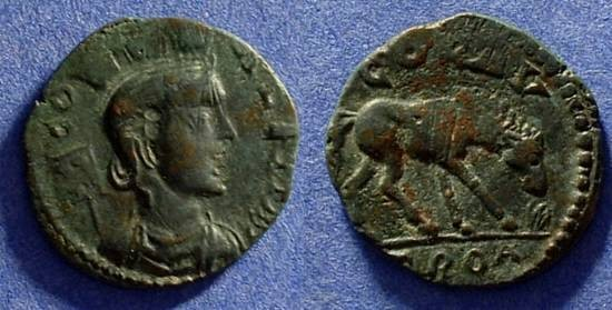 Ancient Coins - Alexander Troas AE21  Mid 3rd Century AD