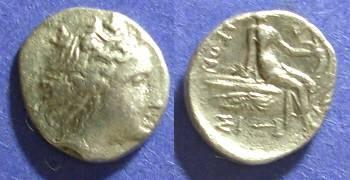 Ancient Coins - Histiaea, Euboea Circa 250 BC, Tetrobol