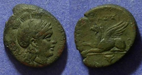 Ancient Coins - Assos, Troas 300-250 BC, AE