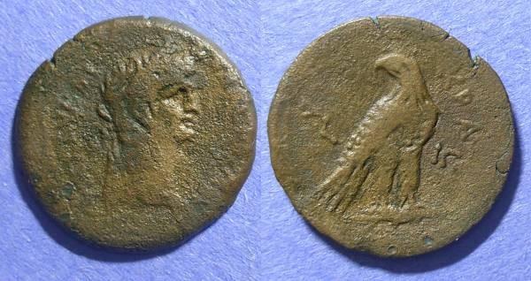 Ancient Coins - Roman Egypt, Claudius 41-54, Diobol