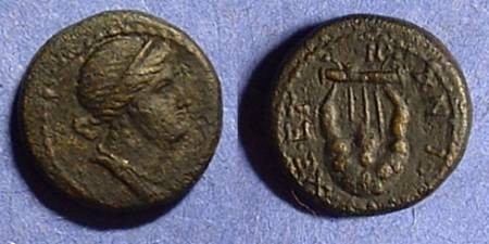Ancient Coins - Antioch Syria AE16 - time of Nero