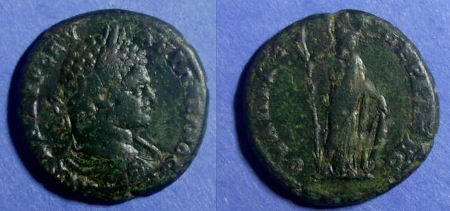 Ancient Coins - Anchialus, Thrace, Caracalla 211-217 AD, AE29