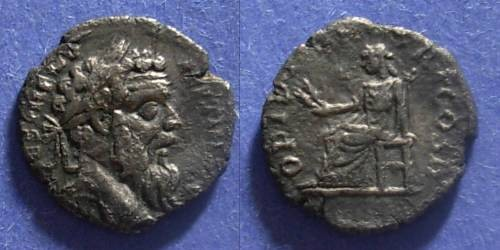 Ancient Coins - Roman Empire, Pertinax 193, Denarius