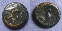 Ancient Coins - Campania, Cales 265-240 BC, AE18