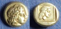 Ancient Coins - Lesbos, Mytilene 377-326, Hekte