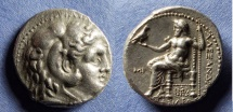 Ancient Coins - Macedonian Kingdom, Alexander III 336-323 BC, Tetradrachn