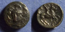 Ancient Coins - Pharsalos, Thessaly Circa 400-350 BC, AE16