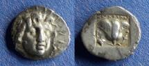 Ancient Coins - Islands off of Caria, Rhodes 170-150 BC, Hemidrachm