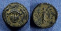 Ancient Coins - Seleucid Kingdom, Antiochos I 281-261 BC, AE15