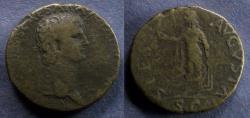 Ancient Coins - Roman Empire, Claudius 41-54, Sestertius (Imitative)