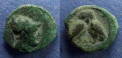 Ancient Coins - Mysia, Miletopolis Circa 150 BC, AE17