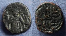 Ancient Coins - Byzantine Empire, Constans II 641-668, 12 Nummi