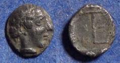 Ancient Coins - Ionia, Kolophon 450-410 BC, Tetartemorion