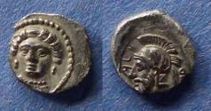 Ancient Coins - Cilicia, Tarsos, Pharnabazos / Datames 380-361 BC, Obol