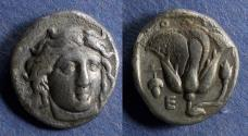 Ancient Coins - Islands off Caria, Rhodes 340-316 BC, Didrachm