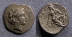Ancient Coins - Thessaly, Kierium Circa 350 BC, Trihemiobol