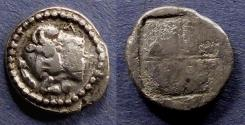 Ancient Coins - Macedonia, Akanthos 470-390 BC, Tetrobol