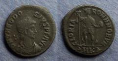 Ancient Coins - Roman Emipre, Theodosius 379-395, AE2