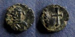 World Coins - Vandals, In the name of Theodosius II Circa 425 AD, AE4