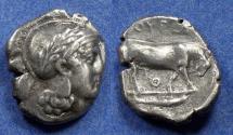 Ancient Coins - Lucania, Thourioi Circa 420 BC, Nomos