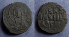 Ancient Coins - Byzantine Empire, Anonymous Class E (Constantine X) 1059-67, Follis