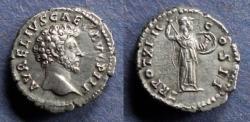 Ancient Coins - Roman Empire, Marcus Aurelius (as Caesar) 138-161, Denarius