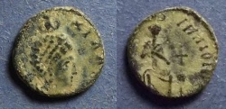 Ancient Coins - Roman Empire, Eudoxia 400-404, AE4