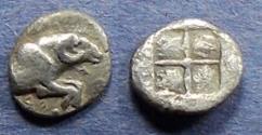 Ancient Coins - Troas, Kebren Circa 450 BC, Obol