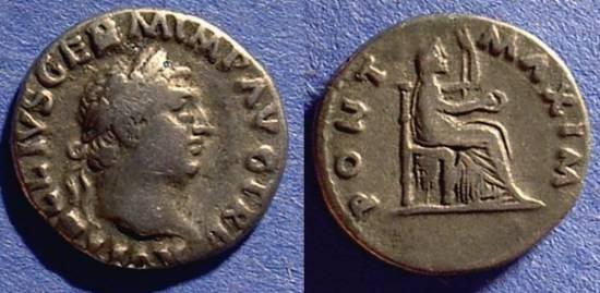 Ancient Coins - Vitellius 69AD  Denarius