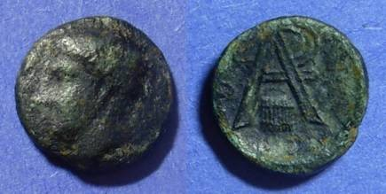 Ancient Coins - Arkadian League  370-280 BC AE16
