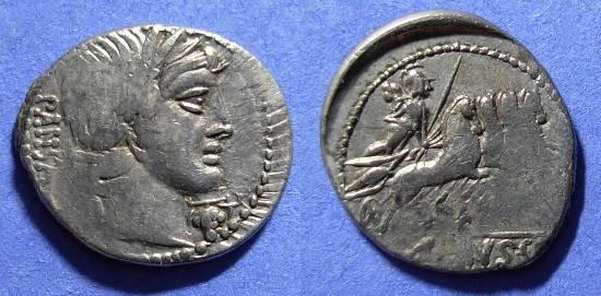 Ancient Coins - Roman Republic - Denarius - Vibia 2 - 90BC