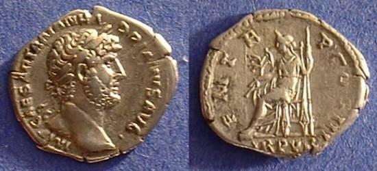 Ancient Coins - Hadrian 117-138 AD - Denarius