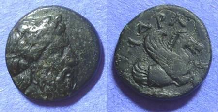 Ancient Coins - Adramytteion Mysia AE16 – Circa 350 BC