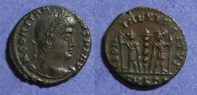 Ancient Coins - Roman Empire Constantius II  337-361 AE 4