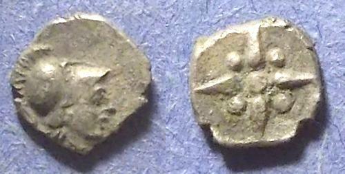 Ancient Coins - Ionia, Uncertain mint Circa 350BC, Hemiobol