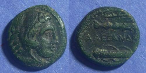 Ancient Coins - Macedonian Kingdom, Alexander III 336-323 BC, AE17