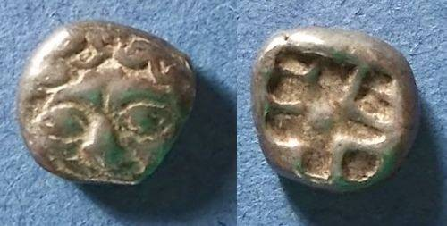 Ancient Coins - Parion, Mysia Circa 480 BC, 3/4 Drachm