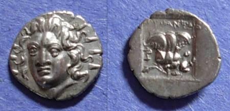 Ancient Coins - Rhodes, Island off Caria 125-88, Hemidrachm