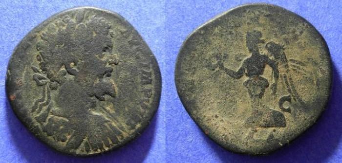 Ancient Coins - Septimius Severus 193-211AD - Sestertius