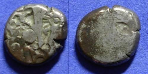 Ancient Coins - India - Mauryan Empire - Karshapana of Bindusara 297-272 BC